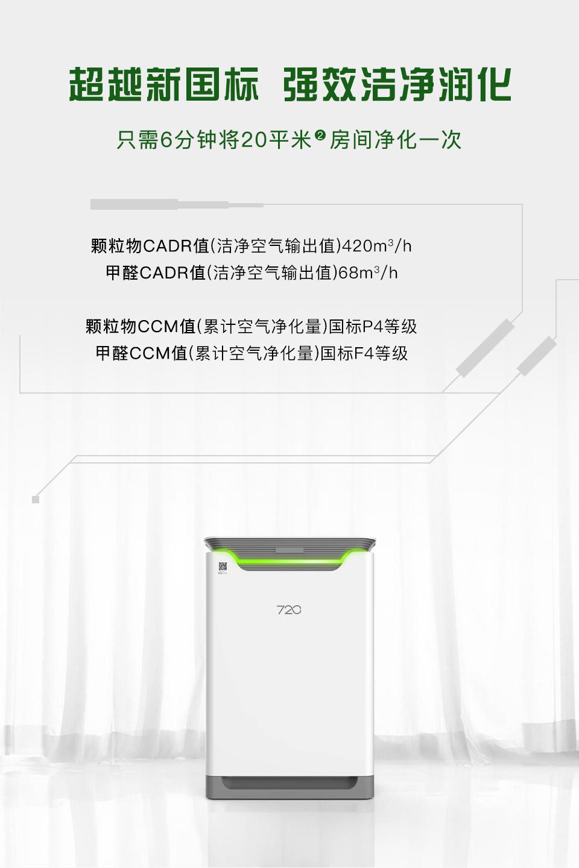 720全智能净化器EP420-720(柒贰零)官网